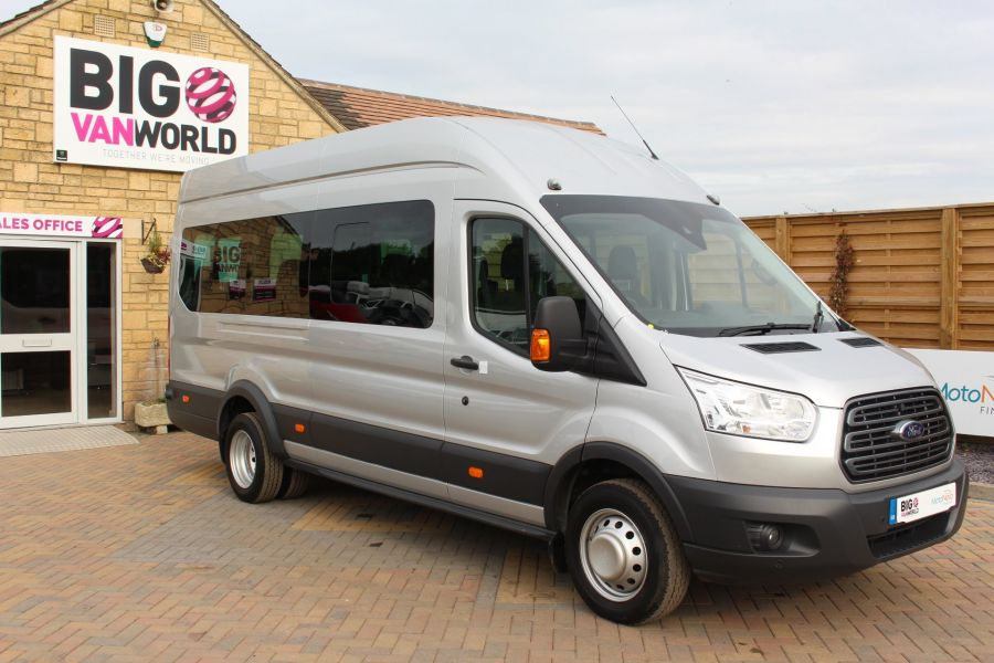 FORD TRANSIT 460 TDCI 125 L4 H3 TREND LWB HIGH ROOF 17 SEAT BUS RWD - 6563 - 2
