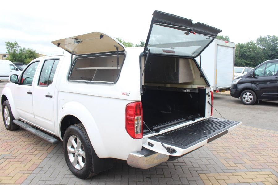 NISSAN NAVARA DCI ACENTA 4X4 DOUBLE CAB WITH TRUCKMAN TOP - 6447 - 23