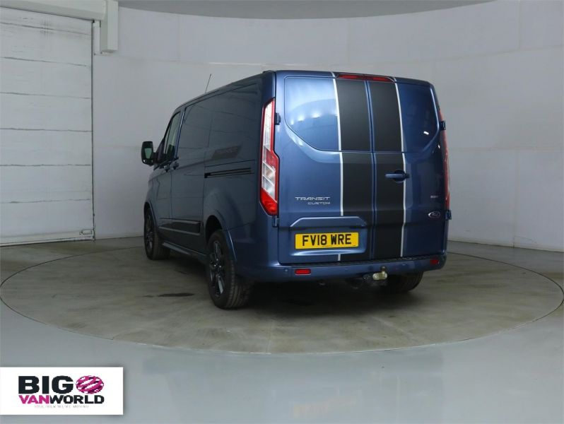 FORD TRANSIT CUSTOM 290 TDCI 170 L1 H1 SPORT SWB LOW ROOF FWD - 8961 - 5