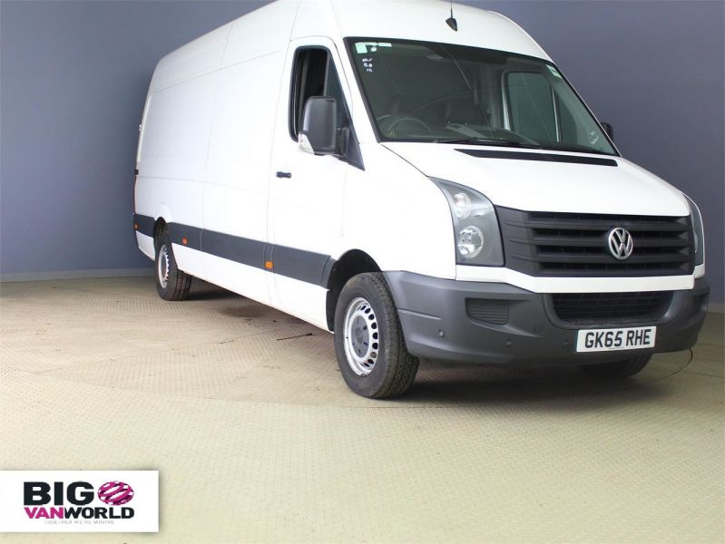 VOLKSWAGEN CRAFTER CR35 TDI 136 LWB HIGH ROOF - 7633 - 1