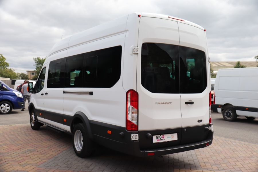 FORD TRANSIT 460 TDCI 155 L4H3 TREND 17 SEAT BUS HIGH ROOF DRW RWD - 9767 - 7