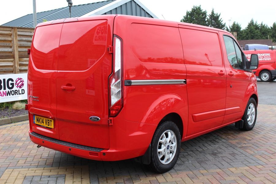 FORD TRANSIT CUSTOM 290 TDCI 125 L1 H1 LIMITED SWB LOW ROOF FWD - 9268 - 5