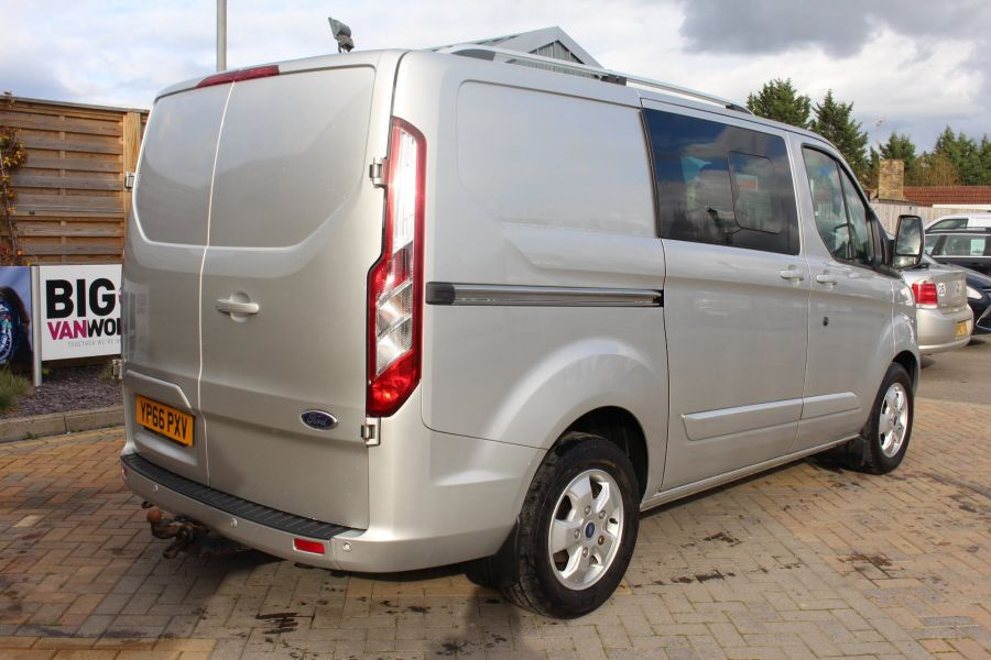 FORD TRANSIT CUSTOM 290 TDCI 170 L1 H1 LIMITED DOUBLE CAB 6 SEAT CREW VAN SWB LOW ROOF FWD  - 8973 - 5