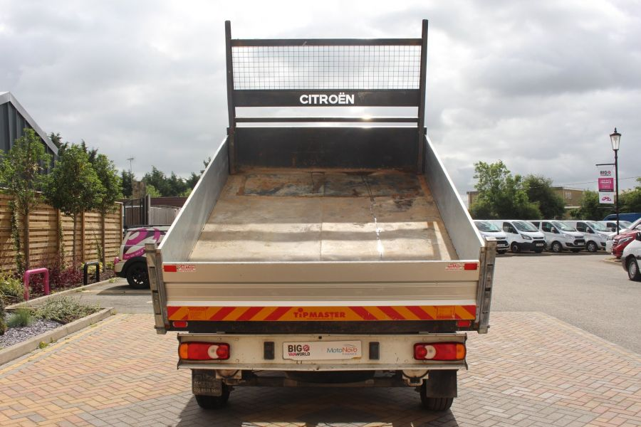 CITROEN RELAY 35 HDI 130 MWB L2 SINGLE CAB ALLOY TIPPER - 6202 - 6