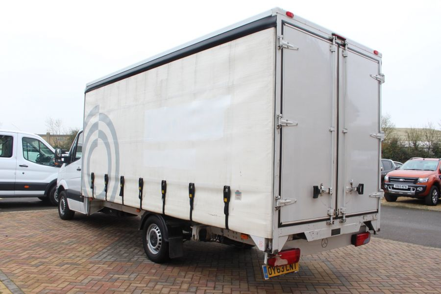 MERCEDES SPRINTER 313 CDI LWB 17FT CURTAIN SIDE BOX - 7006 - 7