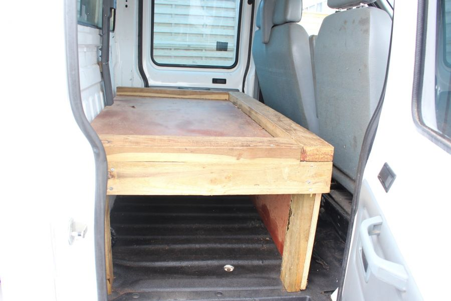 FORD TRANSIT 350 TDCI 110 LWB DOUBLE CAB HIGH SIDED ARBORIST TIPPER - 7454 - 24
