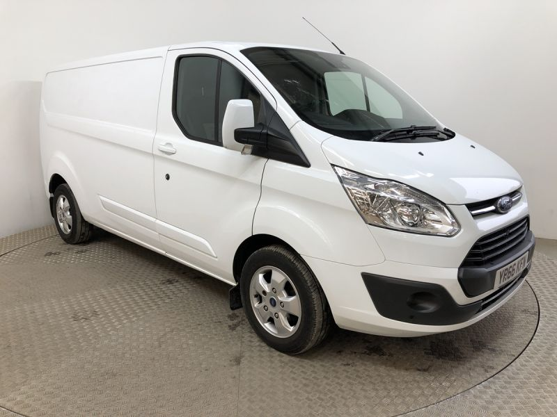 FORD TRANSIT CUSTOM 290 TDCI 130 L2H1 LIMITED LWB LOW ROOF FWD - 11915 - 1