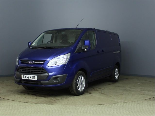 FORD TRANSIT CUSTOM 270 TDCI 155 LIMITED L1 H1 SWB LOW ROOF FWD - 6586 - 5