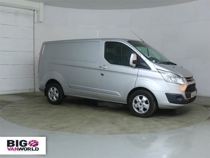 FORD TRANSIT CUSTOM 290 TDCI 170 L1 H1 LIMITED SWB LOW ROOF - 8891 - 2