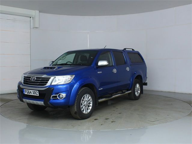 TOYOTA HI-LUX INVINCIBLE 4X4 D-4D 169 DOUBLE CAB WITH TRUCKMAN TOP - 7377 - 5