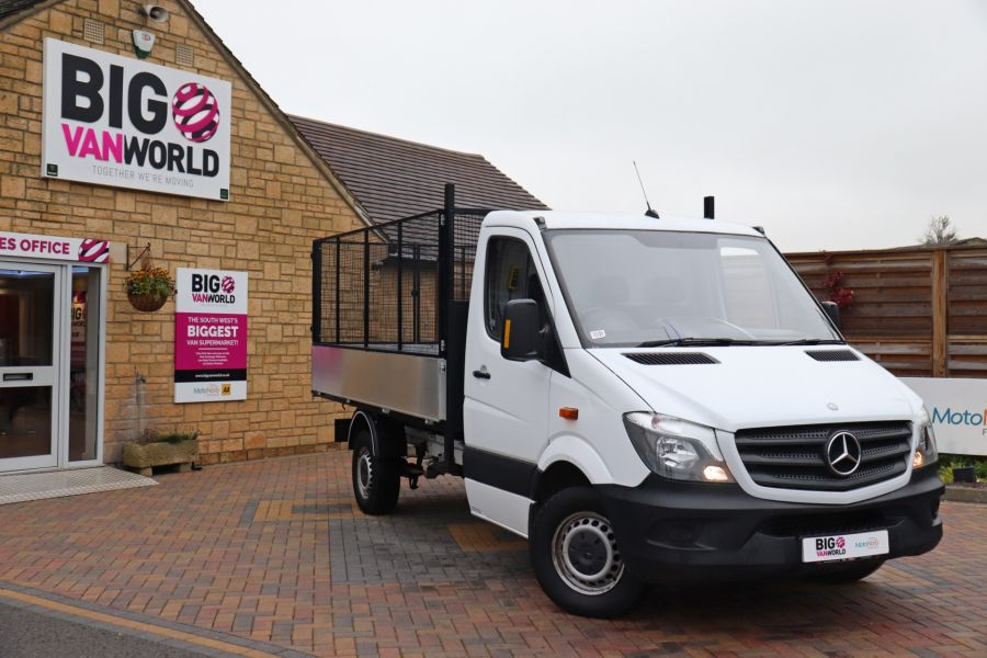 MERCEDES SPRINTER 313 CDI 129 MWB SINGLE CAB NEW BUILD ALLOY CAGED TIPPER - 9685 - 2