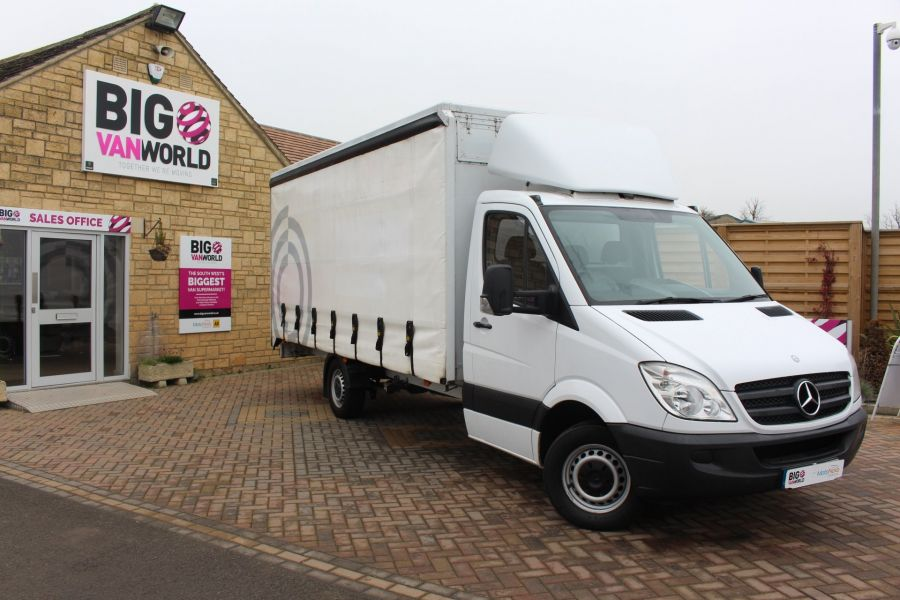 MERCEDES SPRINTER 313 CDI LWB 17FT CURTAIN SIDE BOX - 7006 - 1