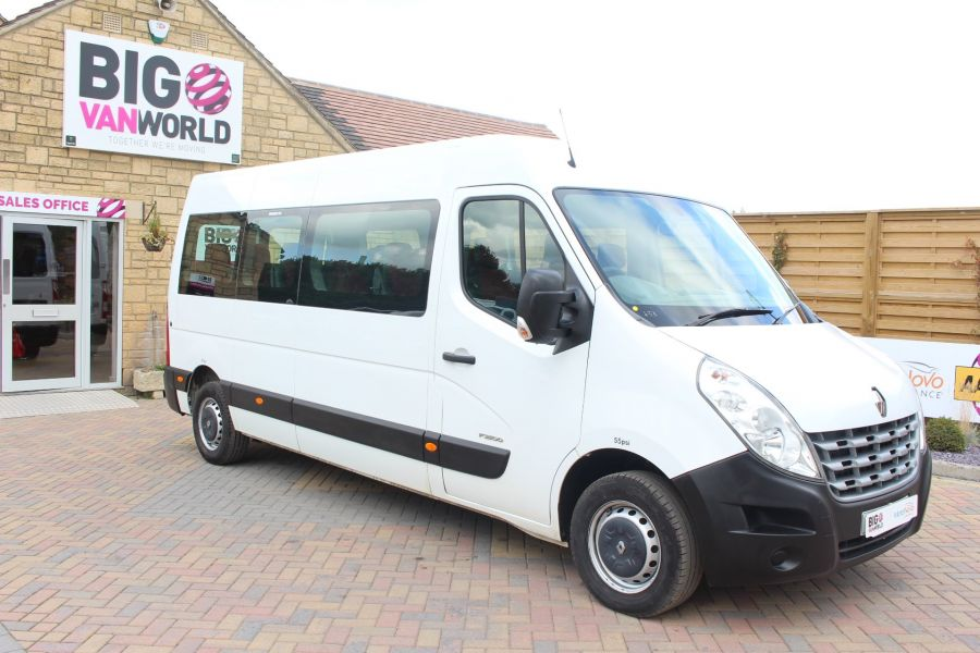 RENAULT MASTER LM39 DCI 125 COACH BUILT 17 SEAT BUS LWB MEDIUM ROOF - 6198 - 2