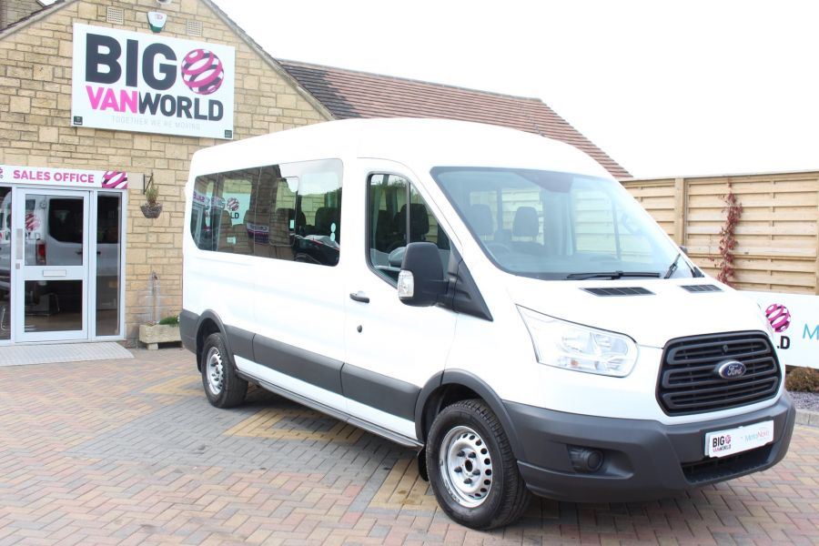 FORD TRANSIT 410 TDCI 125 L3 H2 15 SEAT BUS LWB MEDIUM ROOF - 6975 - 3