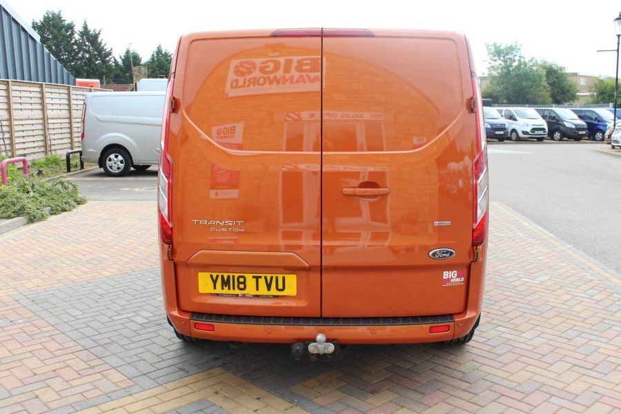FORD TRANSIT CUSTOM 280 TDCI 130 L1 H1 LIMITED SWB LOW ROOF FWD - 9411 - 6