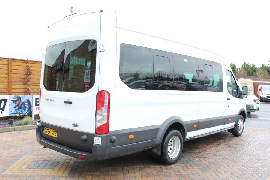 FORD TRANSIT 460 TDCI 125 L4 H3 TREND 17 SEAT BUS HIGH ROOF DRW RWD - 8462 - 5