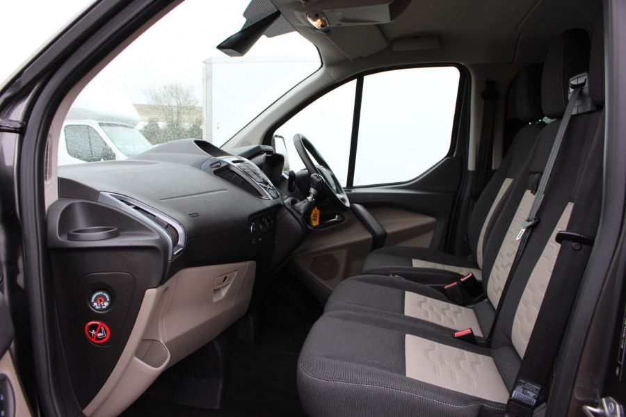 FORD TRANSIT CUSTOM 290 TDCI 125 L1 H1 LIMITED DOUBLE CAB 6 SEAT CREW VAN SWB LOW ROOF FWD - 7542 - 18