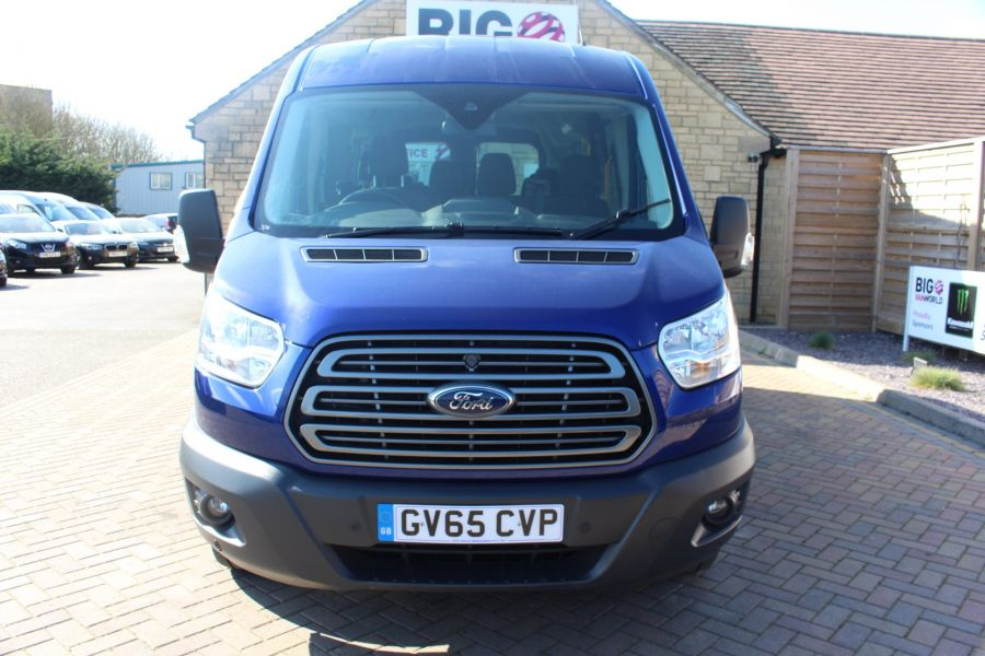 FORD TRANSIT 410 TDCI 125 L3 H2 TREND 15 SEAT BUS LWB MEDIUM ROOF RWD - 9007 - 9