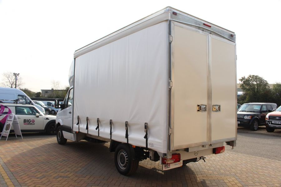 MERCEDES SPRINTER 313 CDI LWB 14FT CURTAIN SIDE LUTON BOX - 6147 - 6
