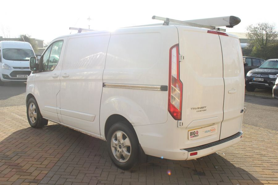 FORD TRANSIT CUSTOM 290 TDCI 125 L1 H1 LIMITED SWB LOW ROOF FWD - 6858 - 7