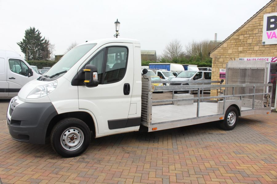 CITROEN RELAY 35 HDI 120 L3 PLATFORM CAB WITH REAR LOADING RAMP - 7171 - 8