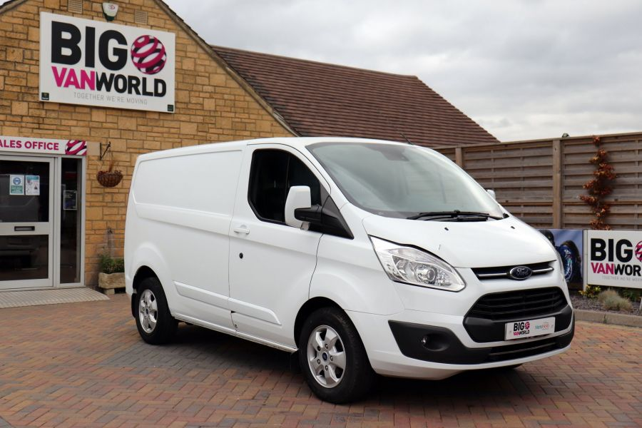 FORD TRANSIT CUSTOM 270 TDCI 130 L1H1 LIMITED SWB LOW ROOF FWD - 11959 - 3