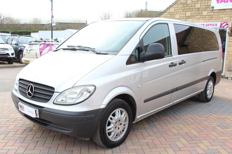 MERCEDES VITO 115 CDI EXTRA LONG 9 SEAT TRAVELINER - 7582 - 8
