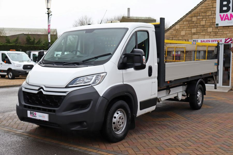 CITROEN RELAY 35 HEAVY HDI 150 ENTERPRISE L4 'ONE STOP' ALLOY DROPSIDE WITH TAIL LIFT - 10284 - 10