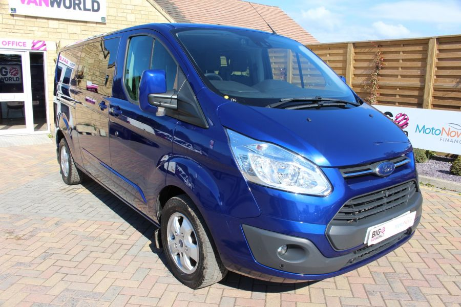 FORD TRANSIT CUSTOM 290 TDCI 155 L2 H1 LIMITED DOUBLE CAB LWB LOW ROOF - 6509 - 3