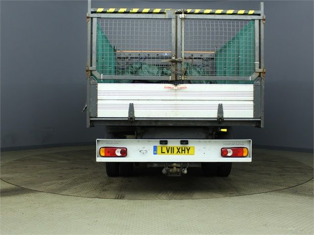 RENAULT MASTER ML35 DCI 100 MWB 7 SEAT DOUBLE CAB ALLOY CAGED TIPPER DRW RWD - 7335 - 3