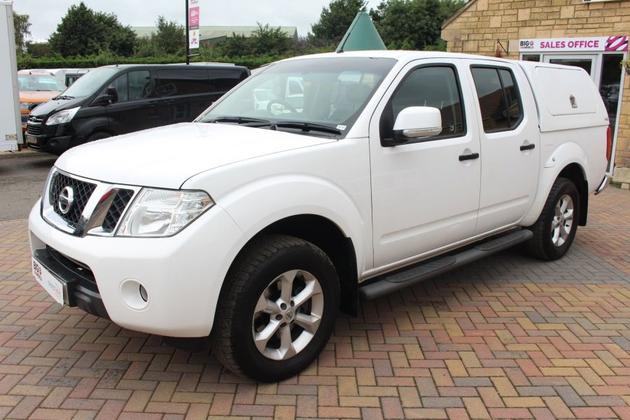 NISSAN NAVARA DCI ACENTA 4X4 DOUBLE CAB WITH TRUCKMAN TOP - 6447 - 8