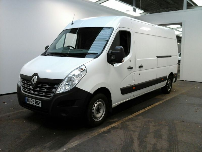 RENAULT MASTER LM35 DCI 130 BUSINESS LWB MEDIUM ROOF FWD - 8647 - 1