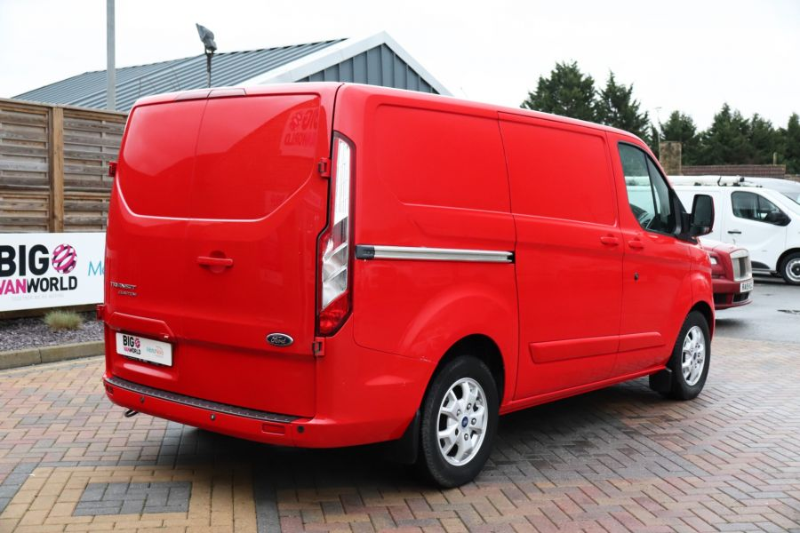 FORD TRANSIT CUSTOM 290 TDCI 125 L1H1 LIMITED SWB LOW ROOF FWD - 12045 - 8