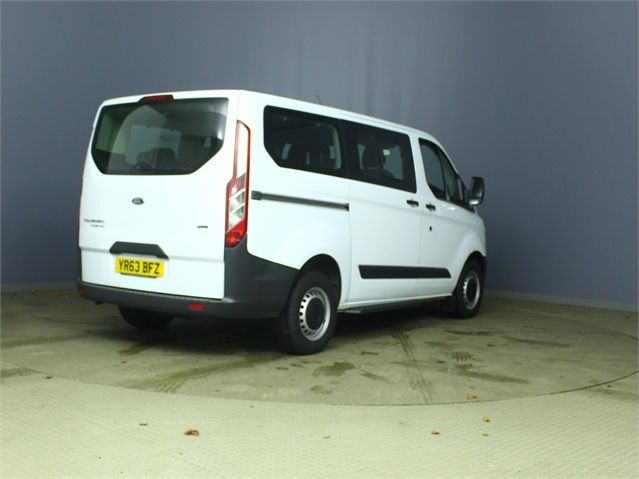 FORD TOURNEO CUSTOM 300 TDCI 100 L1 H1 8 SEAT MINIBUS SWB LOW ROOF FWD - 6983 - 2