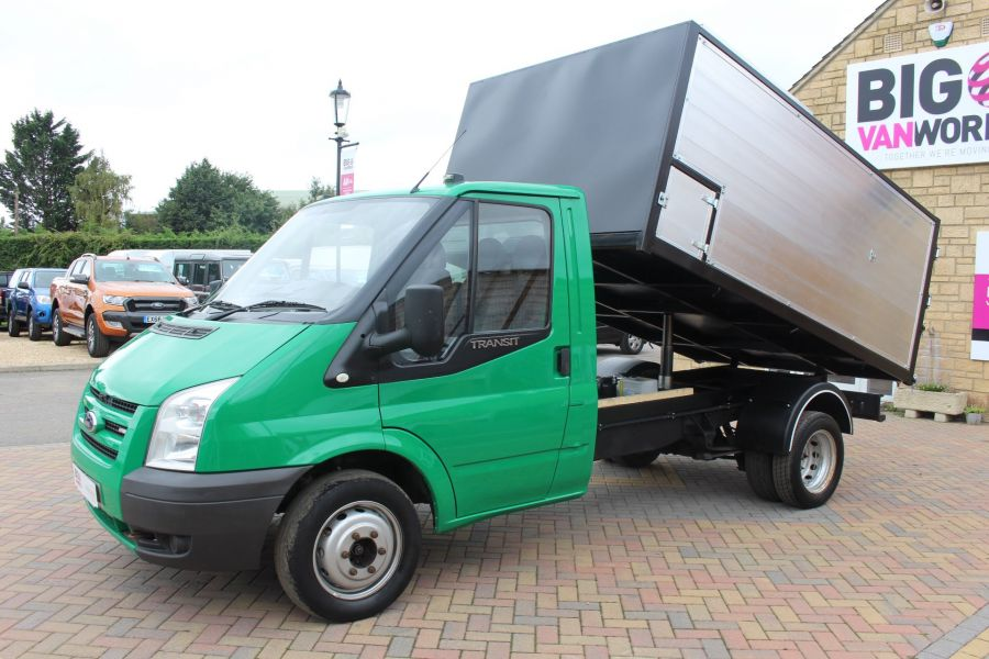 FORD TRANSIT 350 TDCI MWB SINGLE CAB NEW ALLOY ARBORIST TIPPER - 6565 - 8
