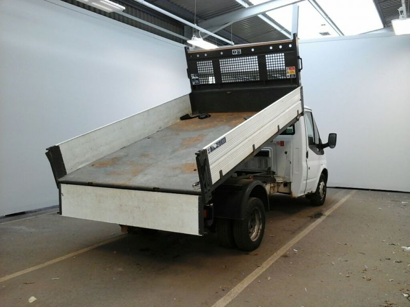 FORD TRANSIT 350 TDCI 100 MWB SINGLE CAB 'ONE STOP' ALLOY TIPPER DRW RWD - 9850 - 2