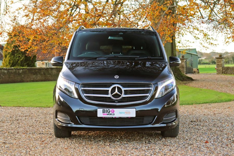 MERCEDES V-CLASS V250 CDI 190 BLUETEC SPORT EXTRA LONG 8 SEATS 7G-TRONIC PLUS - 11788 - 12