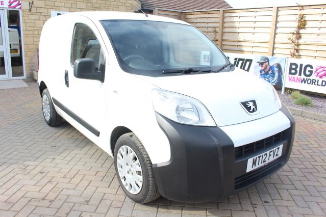 Used PEUGEOT BIPPER in Used Vans Swindon for sale