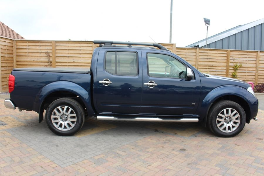 NISSAN NAVARA OUTLAW DCI 231 4X4 DOUBLE CAB WITH TONNEAU COVER - 7877 - 4