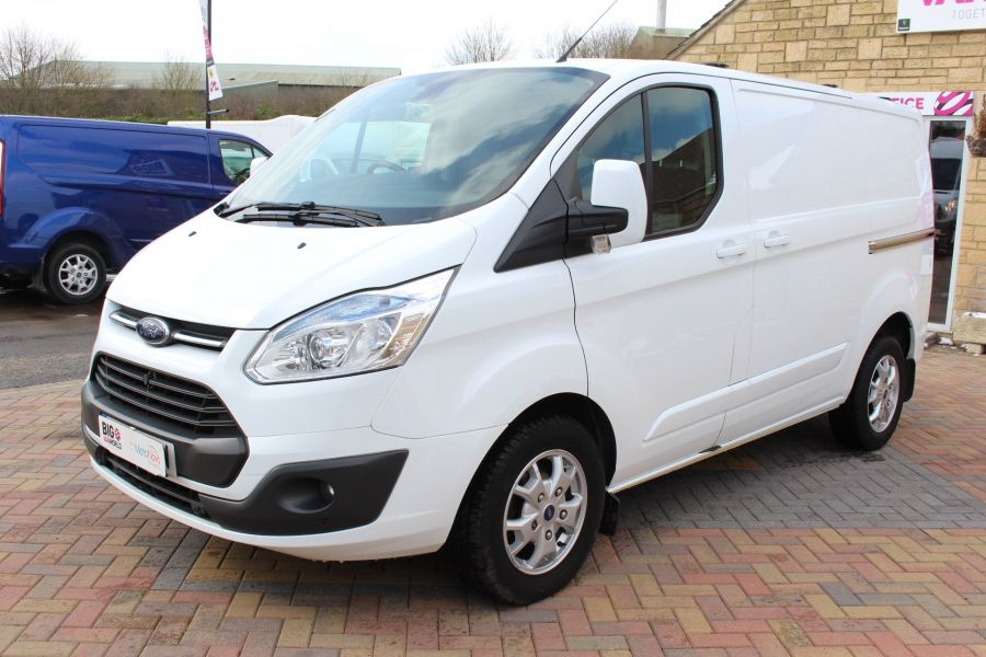 FORD TRANSIT CUSTOM 270 TDCI 125 L1 H1 LIMITED SWB LOW ROOF FWD - 7475 - 8
