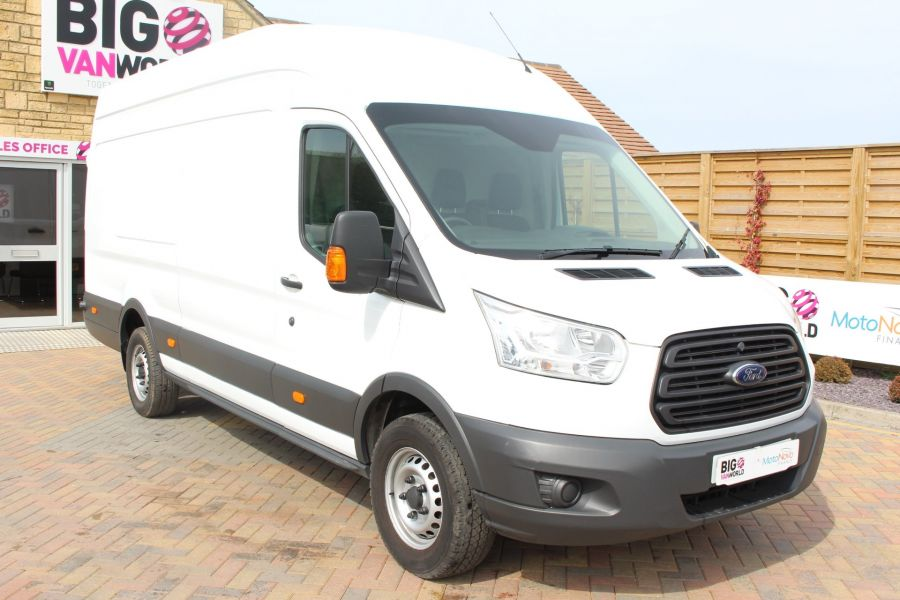 FORD TRANSIT 350 TDCI 125 L4 H3 JUMBO HIGH ROOF RWD - 7394 - 1