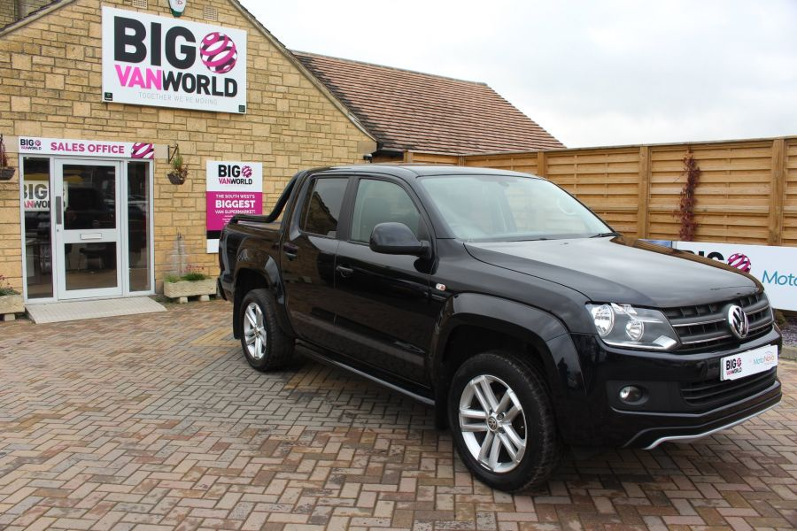 VOLKSWAGEN AMAROK A32 BITDI 180 CANYON 4MOTION SPECIAL EDITION DOUBLE CAB AUTO WITH ROLL'N'LOCK TOP - 6869 - 2