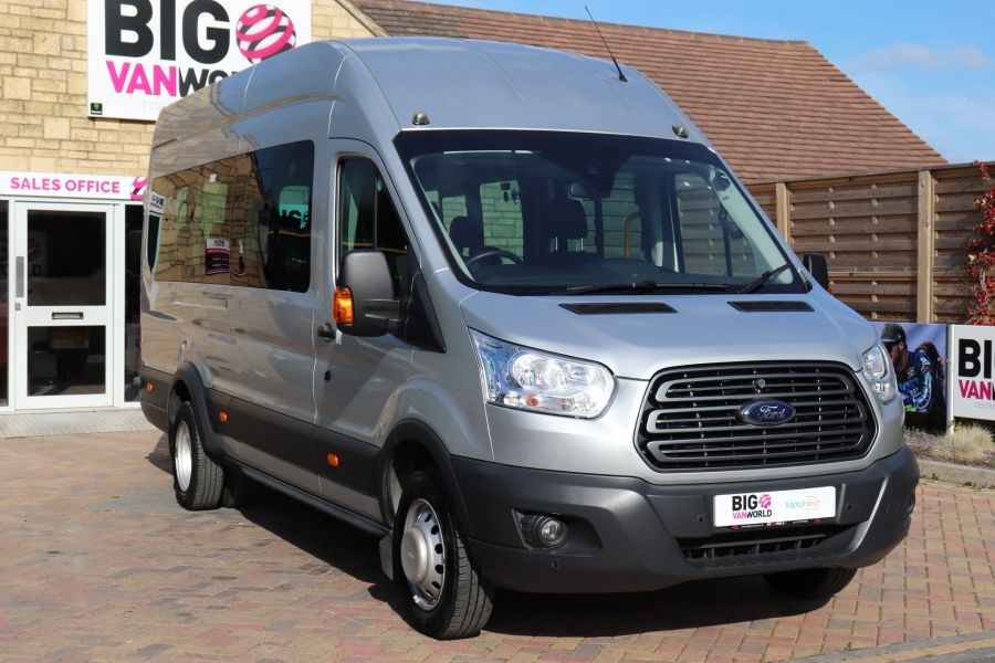FORD TRANSIT 460 TDCI 125 L4H3 TREND 17 SEAT BUS HIGH ROOF DRW RWD - 10330 - 3