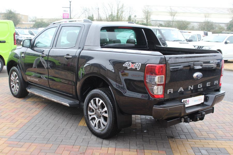 FORD RANGER WILDTRAK TDCI 197 4X4 DOUBLE CAB - 7635 - 7