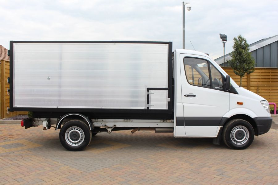 MERCEDES SPRINTER 313 CDI MWB NEW ALLOY ARBORIST TIPPER - 6031 - 11
