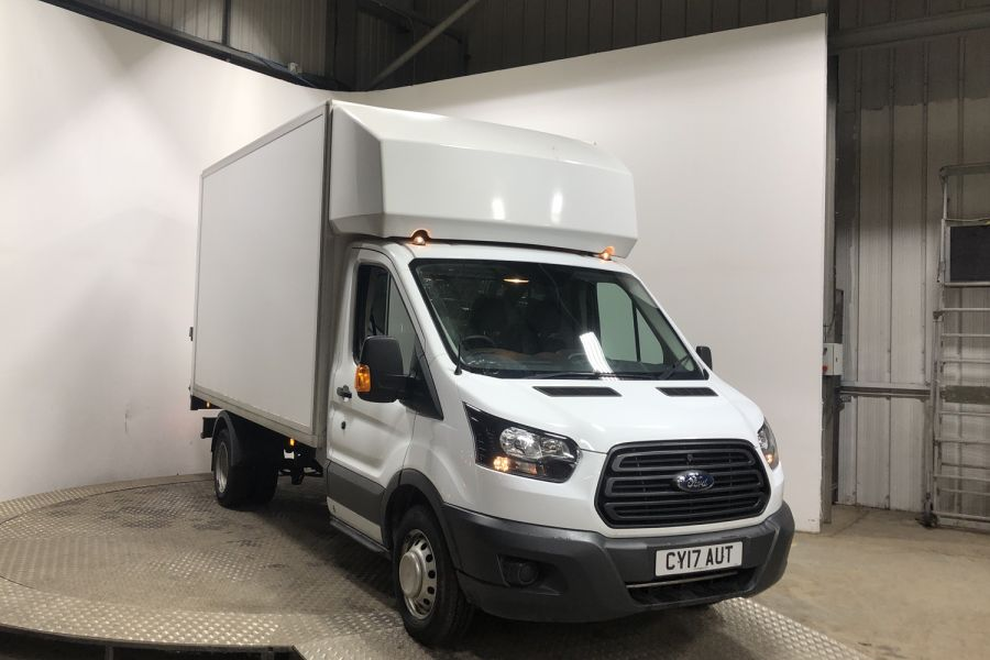FORD TRANSIT 350 TDCI 130 L3 LWB 'ONE STOP' LUTO VAN WITH TAIL LIFT DRW RWD - 12071 - 1