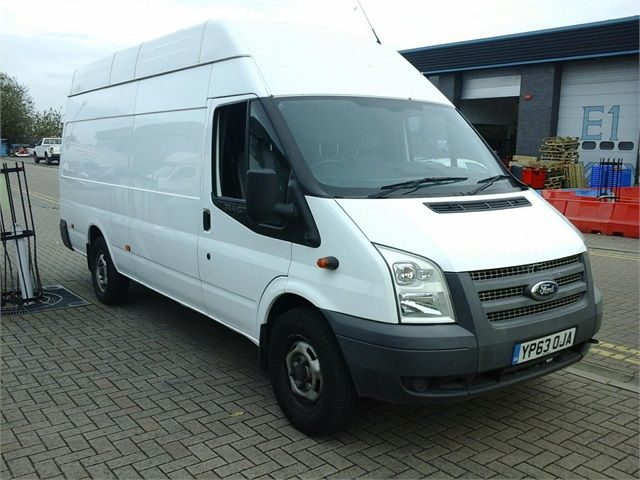 FORD TRANSIT 350 TDCI 125 JUMBO LWB HIGH ROOF RWD - 7041 - 1