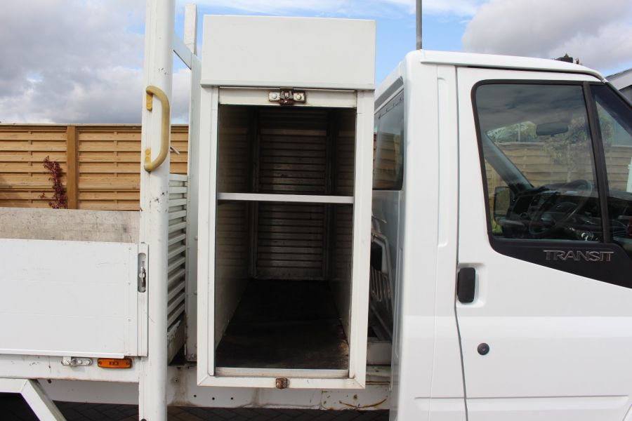 FORD TRANSIT 350 TDCI 100 LWB ALLOY DROPSIDE WITH TOOL BOX DRW - 6528 - 10