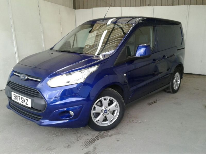 FORD TRANSIT CONNECT 200 TDCI 120 L1 H1 LIMITED SWB LOW ROOF - 9218 - 1