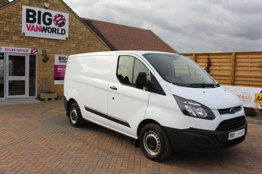 FORD TRANSIT CUSTOM 290 TDCI 125 L1 H1 SWB LOW ROOF FWD - 6562 - 2